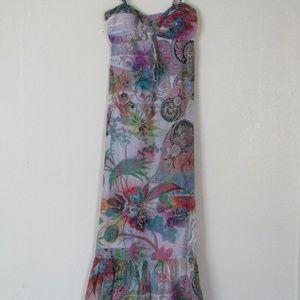 Muse for Boston Proper Ruffle Maxi Dress, 4